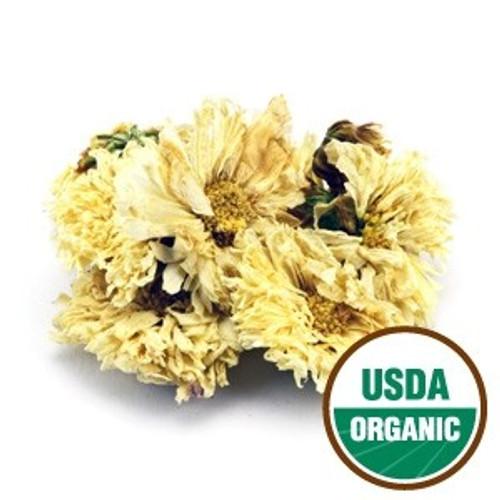 Chrysanthemum Flowers White (Organic)