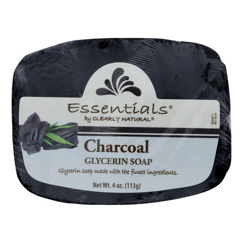 Clearly Natural - Bar Soap Glyc Charcoal - 1 Each - 4 Oz