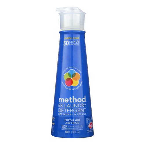 Method Fresh Air 8x Laundry Detergent  - 1 Each - 20 Fz