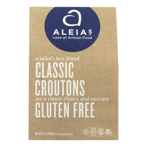 Aleia's - Gluten Free Classic Croutons - Case Of 6 - 8 Oz.