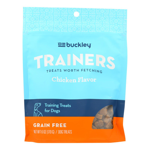 Buckley - Dog Morsels - Functional Chicken - Case Of 8 - 6 Oz