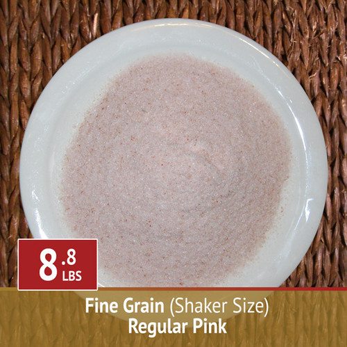 Himalayan Pink Salt by Himalayan Treasures™ - Fine Grain