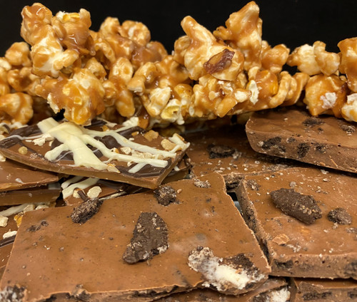 Dangerous Stuff Toffee, Oreo Bark & Toffee Popcorn