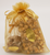 The gift set conveniently packed in a nice gold color organza bag w/ bow!