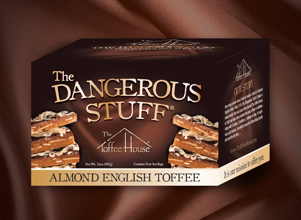 32 oz Box of The Dangerous Stuff Toffee