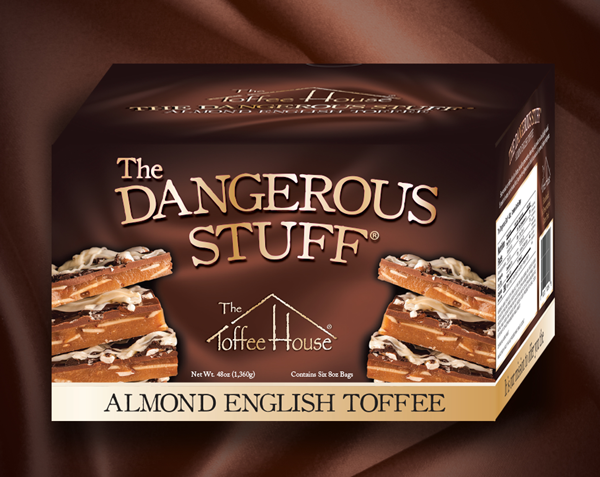 48 oz Box of The Dangerous Stuff Toffee