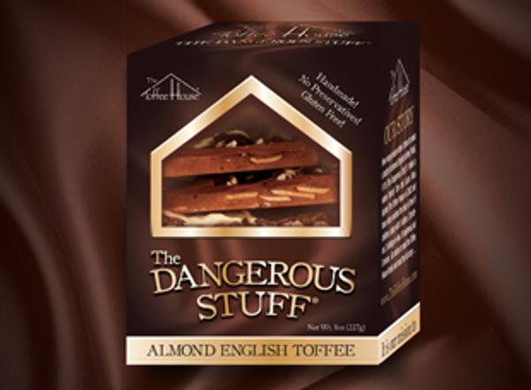 8 oz Box of The Dangerous Stuff Toffee