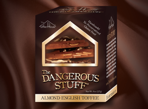 8 oz Box of The Dangerous Stuff Toffee