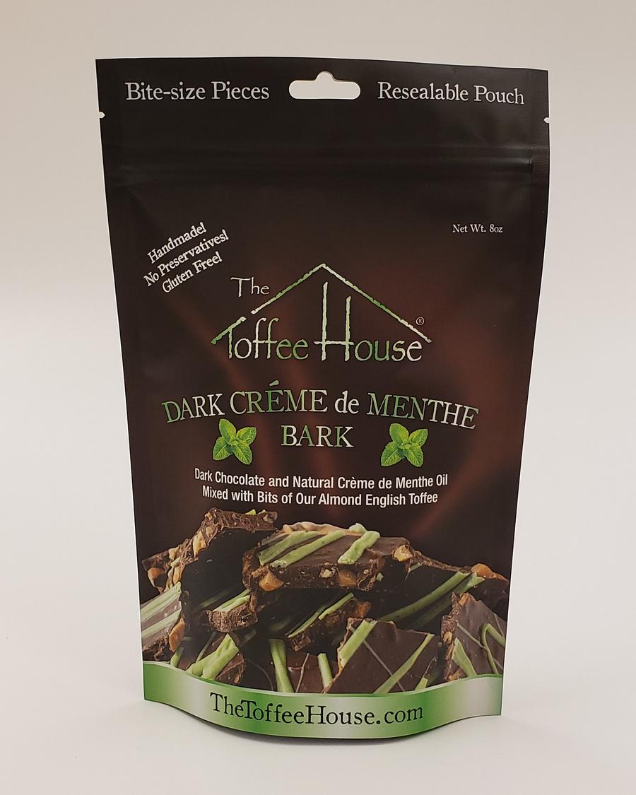 Dark Crème de Menthe Bark