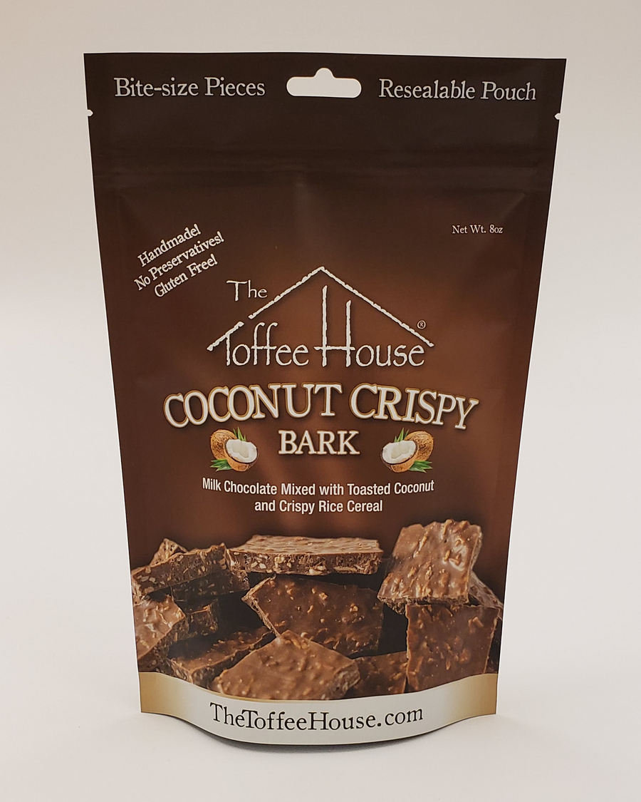 Coconut Crispy Bark