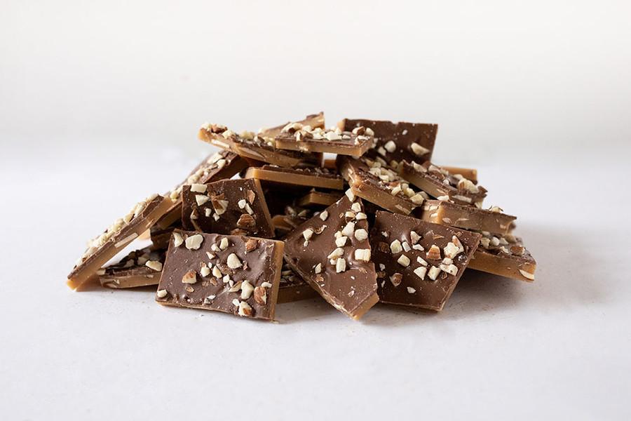 Milk Chocolate Emma's English toffee