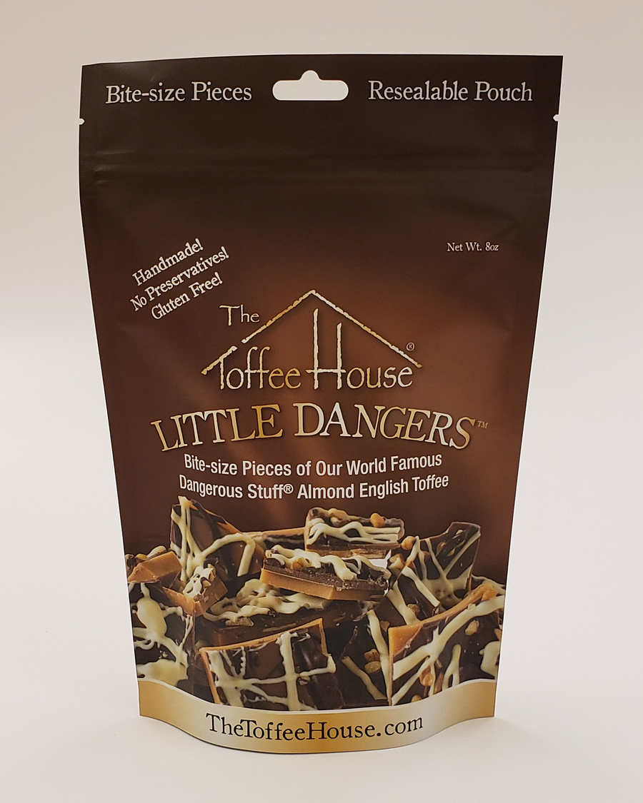 Resealable foil pouch of Little Dangers