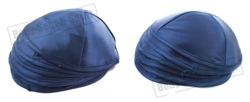 10 Blue Satin Kippah Yarmulke Tribal Jewish Yamaka Kippa Israel Hat Covering Cap