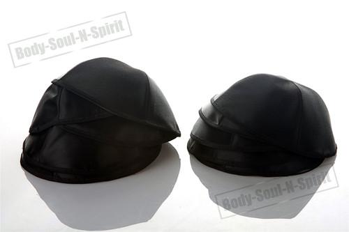 10 Black Satin Kippah Yarmulke Tribal Jewish Yamaka Kippa Hat Covering Cap