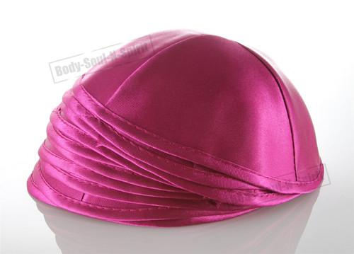 10 Pink Satin Kippah Yarmulke Tribal Jewish Yamaka Kippa Israel Hat Covering Cap