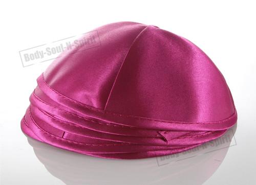 5 Pink Satin Kippah Yarmulke Tribal Jewish Yamaka Kippa Israel Hat Covering Cap