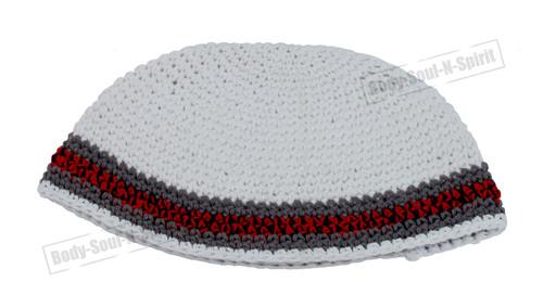 Frik Kippa Israel Hat Covering Cap cupola Yarmulke Knitted Tribal Jewish Yamaka