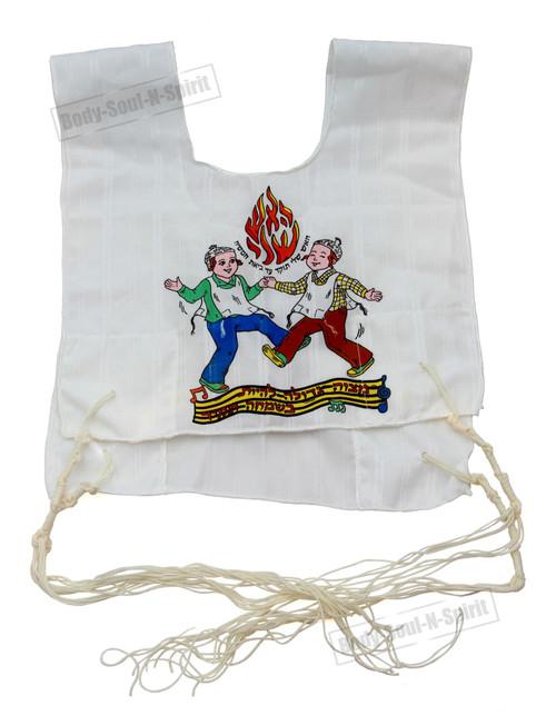 Kosher Jewish KIDS gift boys Tallit Cotton Israel Tzitzit Tsitsit Katan tassels