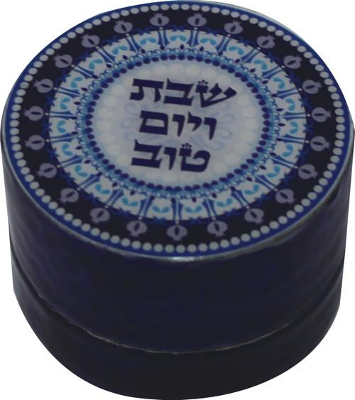 Holyland Jewish Travelers Shabbat Candlestick yom tov Shabbos household Candle