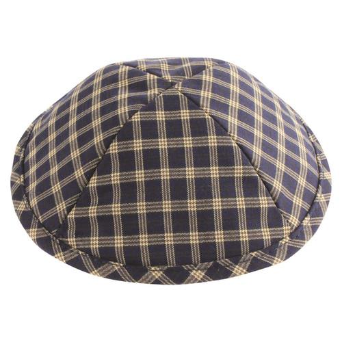 Cloth Kippah 19 cm Squares Yarmulke Tribal Jewish Yamaka Kippa holy Israel cap