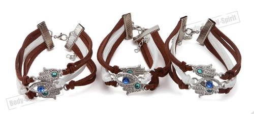 3 Spiritual karma STRING Bracelet Kabbalah protection soul Hamsa Lucky Success