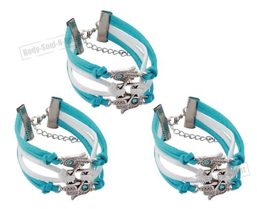 3 Magen Hamsa spiritual Star STRING Bracelet Kabbalah protection Lucky Success