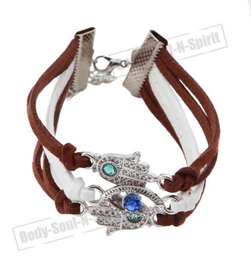 Spiritual karma STRING Bracelet Kabbalah protection soul Hamsa Lucky Success