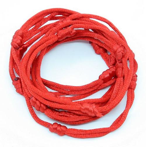 Red Hand Made Lucky String Kabbalah Bangle Bracelets success luck Bracelet