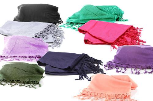 Wrap Shawl Pashmina Soft Scarf  Viscose Ethnic Gypsy BEST Women Fashion MODERN