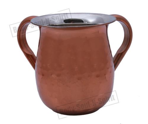 Jewish Shabbat Hand Washing Cup NETILAT YADAYIM holy Judaica stainless steel