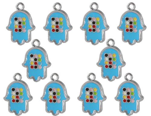 Blue DIY HOSHEN Jewish Making Jewelry Amulet Pendant success Judaica Kabbalah