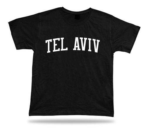 T-Shirt 100% Cotton Tel Aviv Beaches Hotels Jaffa Bauhaus Diamond Clubs Bars