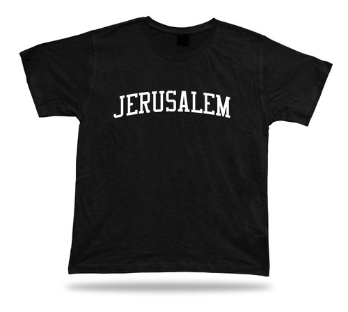 T-Shirt Gift Idea Jerusalem Israel Western Wall Dome of the Rock holy land Tee