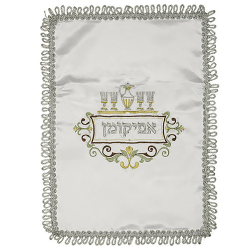 HOLY seder Matzoh AFIKOMAN Cover Matza Jewish Pessach Israel Judaica PASSOVER