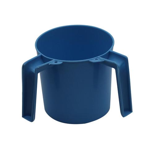 Blue Plastic Jewish Hand Washing Cup NETILAT YADAYIM Israel Shabbat Judaica