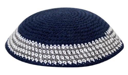 Blue Israel Covering Knitted Tribal Jewish  Kippa Holy Hat Cap Yarmulke Yamaka