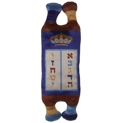 "Bible Pentateuch Mini Torah SEFER Scroll Book 10"" Judaica Synagogue Hebrew cloth"