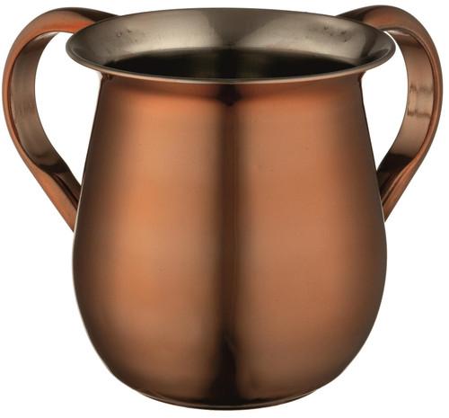 Stainless Steel Hand Washing Cup Copper Jewish Shabbat NETILAT YADAYIM Judaica