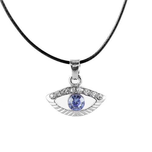 Sky Evil Eye Spiritual Inspired Necklace LUCKY charm Pendant Judaica Kabbalah