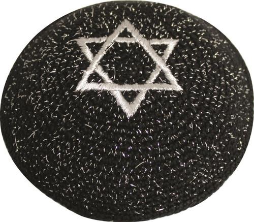 Magen Star of David Knitted Kippah Yarmulke Tribal Jewish Yamaka Kippa Israel