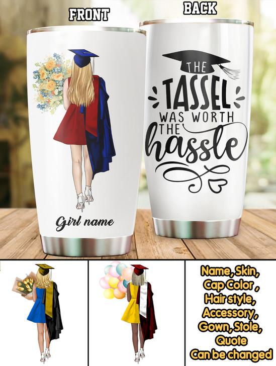 Moosfy Personalized Graduation Tumbler Cup  , Graduation Gifts For Her, College Graduation Gifts, High School Graduation Gifts, Best Graduation Gifts, Personalized Graduation Gifts , Grad Gifts, Gifts For High School Seniors