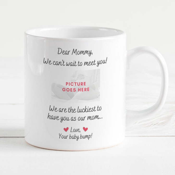 Moosfy Expecting Twins Gift For Mom Mug, Mom Of Twins, Happy 1st Mother's Day Gift