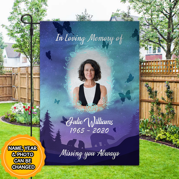 Memorial Flag, personalized sympathy gifts, remembrance gifts