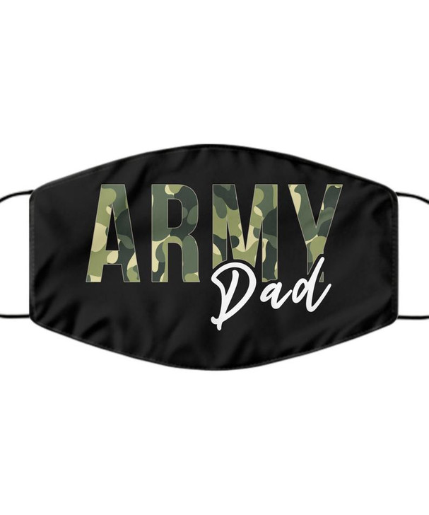 Army Dad Face Mask, Mask for Military Dad