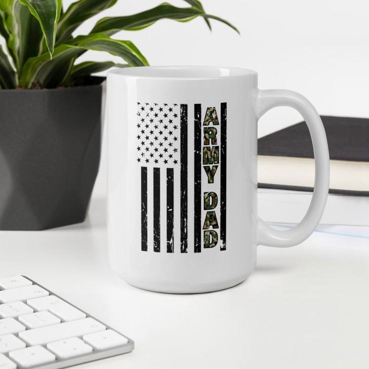 Gift For Army Dad Ceramic Coffee Mug