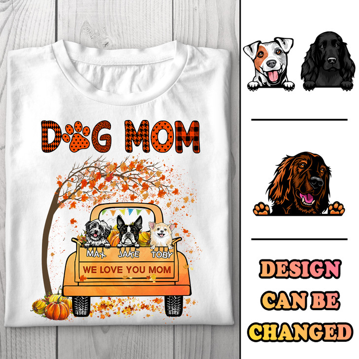 Personalized Gift for Dog Lover Dog Mom Shirt