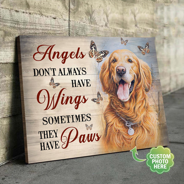 Moosfy - pet memorial canvas, dog memorial gifts, in loving memory gifts, pet loss gifts, pet sympathy gifts