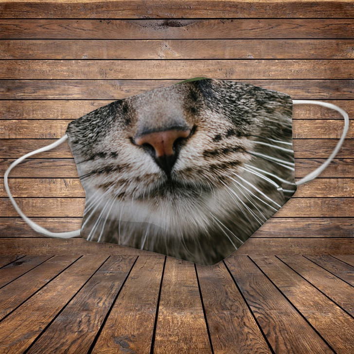 Moosfy Facemask For Cat Lovers - Cute Cat Version