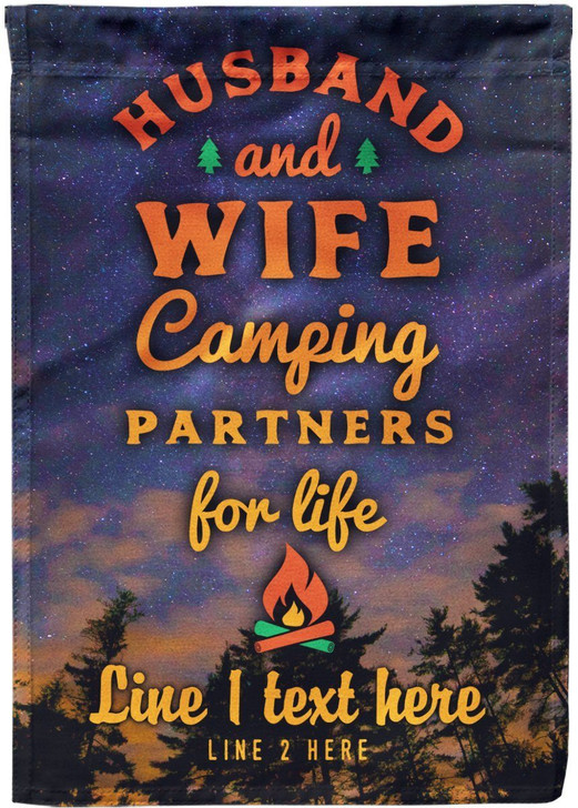 Moosfy Camping Flag for Couple