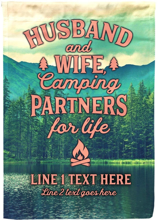 Moosfy Camping Flag - Partners for Life